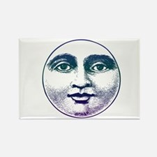 Man in the Moon Rectangle Magnet