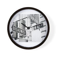 NY Broadway Times Square - Wall Clock
