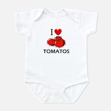 I Love Tomatos Infant Bodysuit