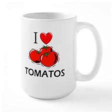 I Love Tomatos Mug