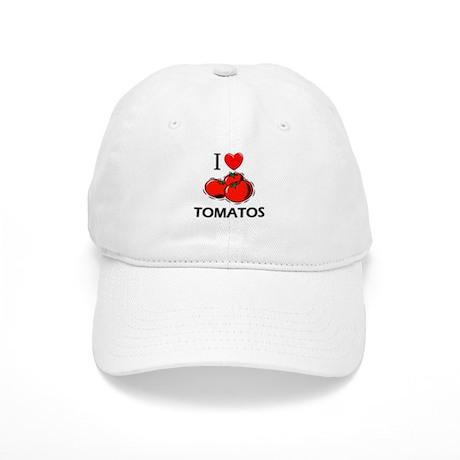 I Love Tomatos Cap