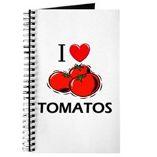 I Love Tomatos Journal