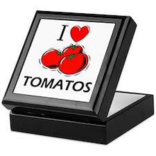 I Love Tomatos Keepsake Box