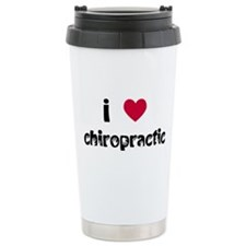 I Love Chiropractic Travel Mug