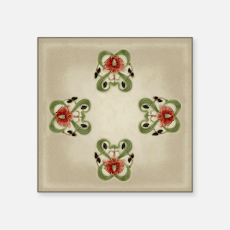 Victorian Roses Sticker
