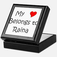 Funny Raina Keepsake Box