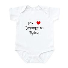 Funny Raina Infant Bodysuit