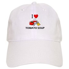 I Love Tomato Soup Baseball Cap