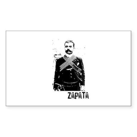 Emiliano Zapata Rectangle Sticker