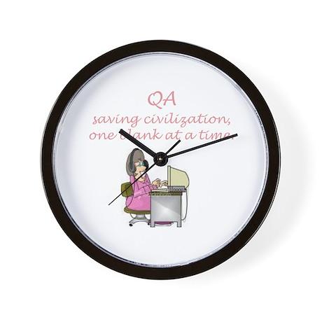 QA Wall Clock