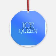 Ice Queen Ornament (Round)