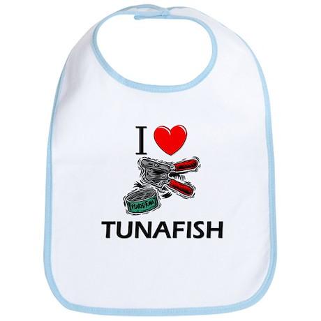I Love Tunafish Bib