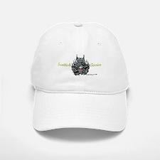 Scottish Terrier Tattoo Art Baseball Baseball Cap