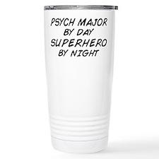 Psych Major Superhero by Night Travel Mug