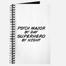 Psych Major Superhero by Night Journal