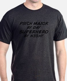 Psych Major Superhero by Night T-Shirt
