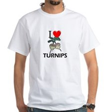 I Love Turnips Shirt
