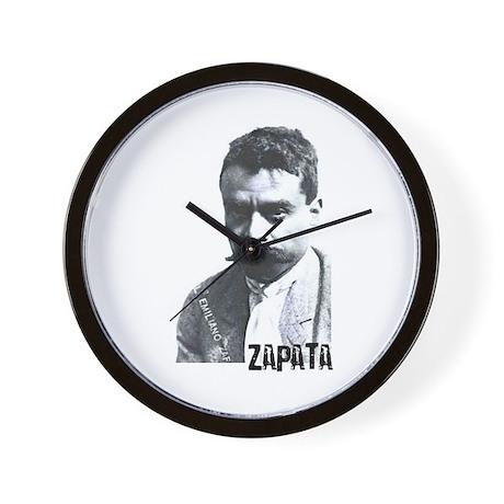Emiliano Zapata - Portrait Wall Clock