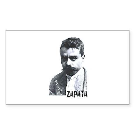 Emiliano Zapata - Portrait Rectangle Sticker
