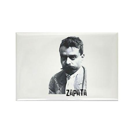 Emiliano Zapata - Portrait Rectangle Magnet (10 pa