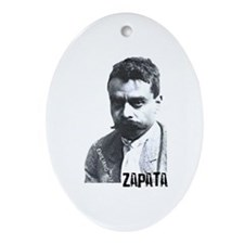 Emiliano Zapata - Portrait Oval Ornament