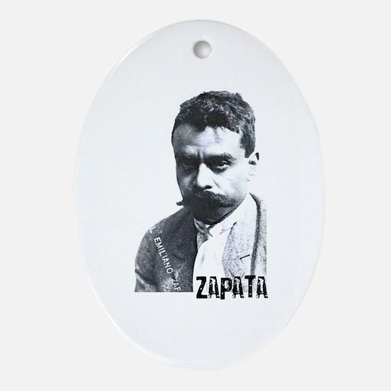 Emiliano Zapata - Portrait Oval Ornament
