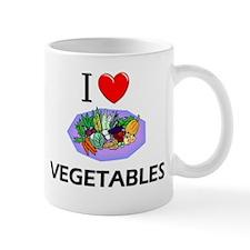 I Love Vegetables Mug