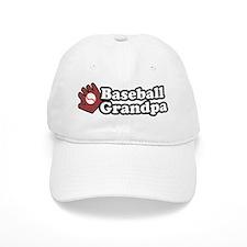 Baseball Grandpa Baseball Cap
