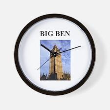 big ben london england gifts Wall Clock