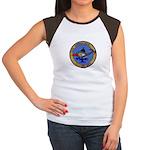 USS AMBERJACK Women's Cap Sleeve T-Shirt
