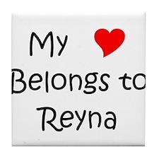Unique Reyna Tile Coaster