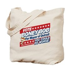 Vote For Boney Bob Tote Bag