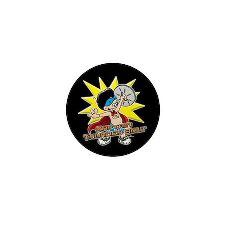 Captain Thunder Bolt! Mini Button (10 pk)
