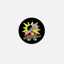 Captain Thunderbolt Mini Button