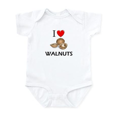 I Love Walnuts Infant Bodysuit