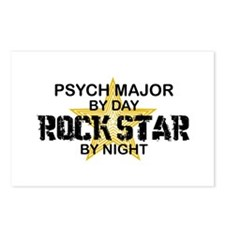 Psych Major Rock Star by Night Postcards (Package