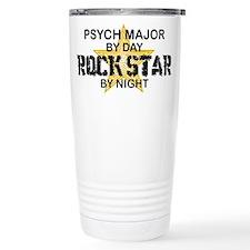 Psych Major Rock Star by Night Travel Mug