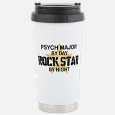 Psych Major Rock Star by Night Travel Mug