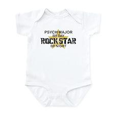 Psych Major Rock Star by Night Infant Bodysuit