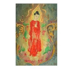 buddha in a glass Postcards (Package of 8)