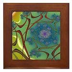 Japan Fractal Framed Tile