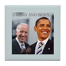 OBAMA & BIDEN Tile Coaster