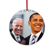OBAMA & BIDEN Ornament (Round)