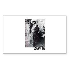 Emiliano Zapata Rectangle Decal