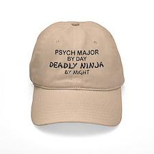 Psych Major Deadly Ninja by Night Baseball Cap