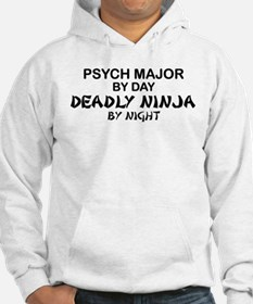Psych Major Deadly Ninja by Night Hoodie