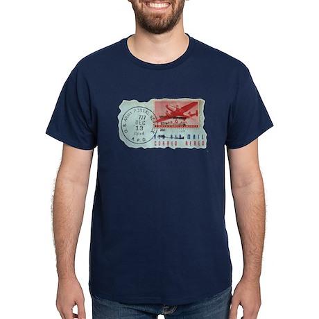 World War Two Air Mail Dark T-Shirt