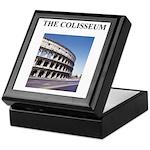 the colisseum rome italy gift Keepsake Box
