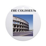 the colisseum rome italy gift Ornament (Round)