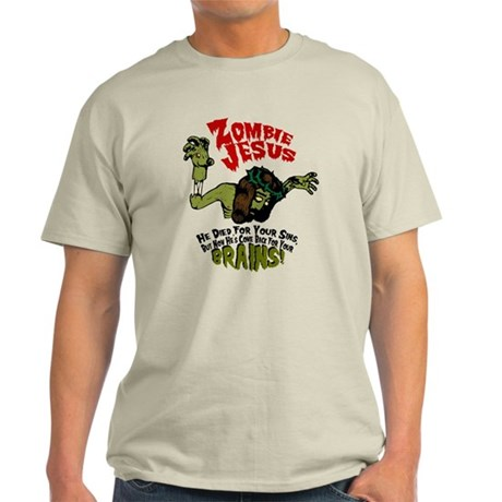 Zombie Jesus Light T-Shirt